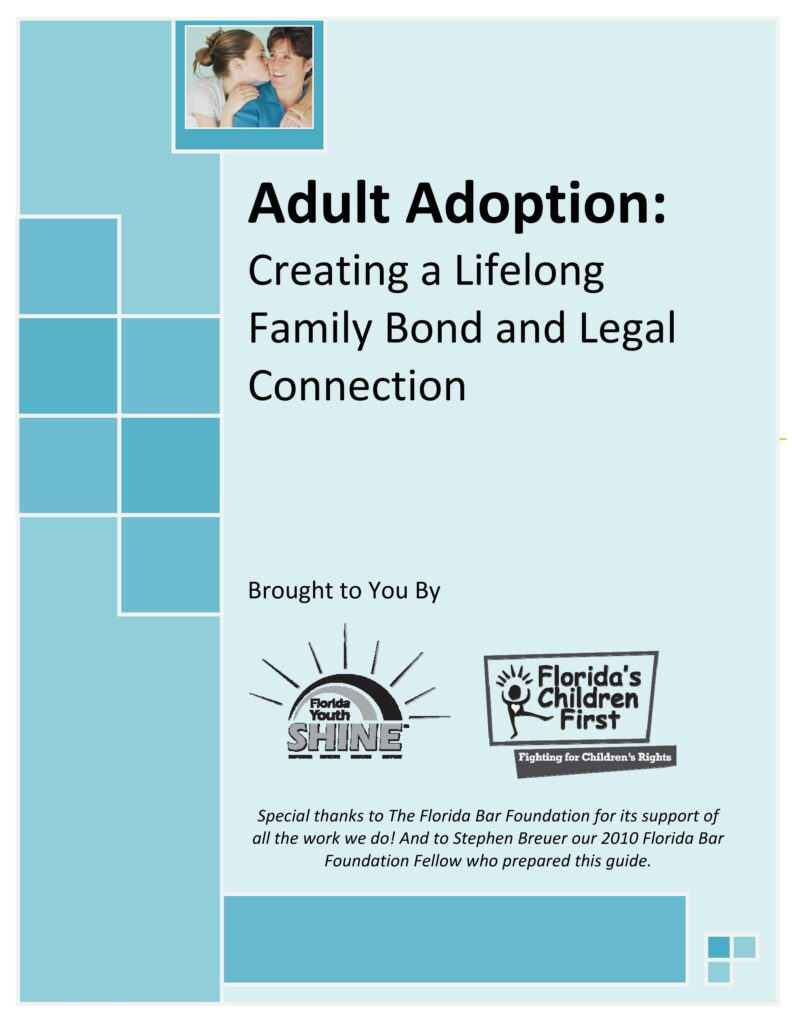 adult adoption and legal name